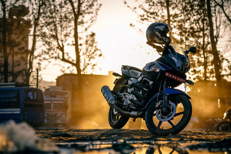 Sustaining Injuries In A Motorcycle Accident Caused By Distracted